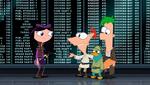 PhineasFerbIsabellaandPerryStarWars