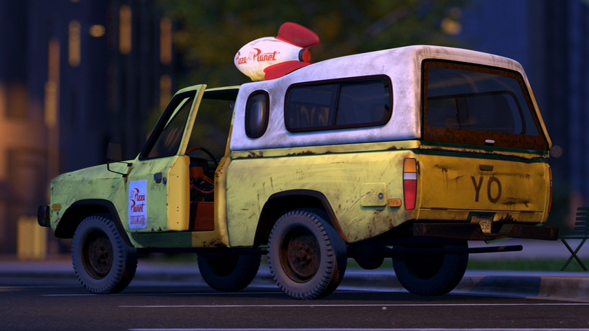 Pizza Planet Truck | Disney Wiki | FANDOM powered by Wikia