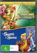 Robin Hood and The Sword in the Stone 2008 AUS DVD