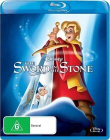 The Sword in the Stone 2013 AUS Blu Ray