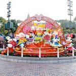 Three Pigs HKDL Chinese New Year Sculptures
