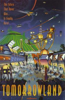 Tomorrowland 94 Poster