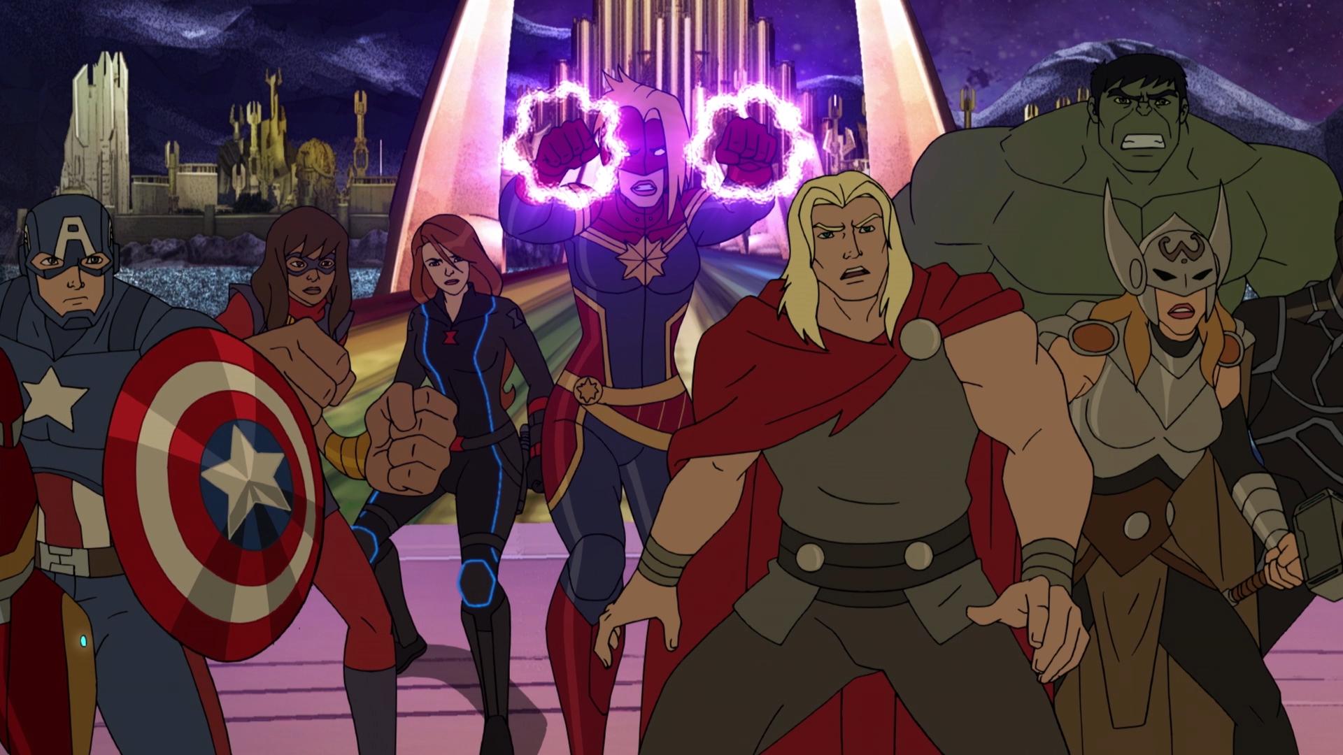 Image Avengers Assemble Season 4 Secret Wars Image Png