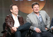 Christian Slater Steve Zahn Winter TCA Party