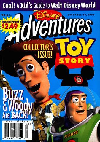 File:Disney Adventures Magazine cover November 30 1996 Toy Story.jpg