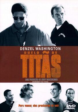 Duelo de Titãs - Capa DVD