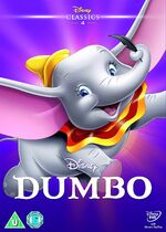 Dumbo UK DVD 2014 Limited Edition slip cover