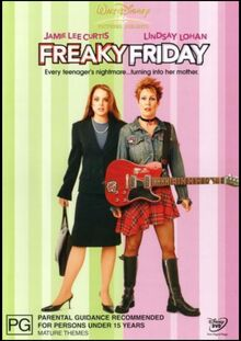 Freaky Friday Remake 2004 AUS DVD