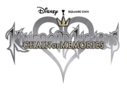 Kingdom Hearts Chain of Memories Logo KHCOM