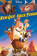 Nem Que A Vaca Tussa - Pôster Nacional