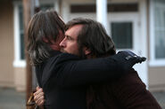 Rumple holding his father