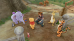 Sora meets Winnie the Pooh and Friends - Kingdom Hearts III