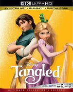 Tangled 4KUHD Blu-ray