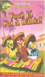 The Three Caballeros 2000 Brazil VHS
