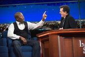 Titus Burgess visits Stephen Colbert