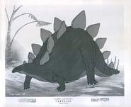 Walt Disney's Fantasia stegosaurus photo