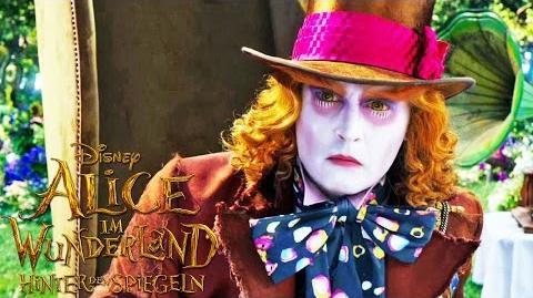 ALICE IM WUNDERLAND Hinter den Spiegeln - Grammy Spot - 2016 im Kino Disney HD