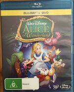 Alice in Wonderland 2012 AUS Blu Ray + DVD