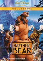 Brother Bear 2004 AUS DVD Second