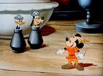 Fun and Fancy Free Mickey Mouse Donald Duck and Goofy in castle