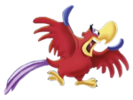 Iago Disney transparent