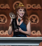 Kathy Griffin speaks at DGA