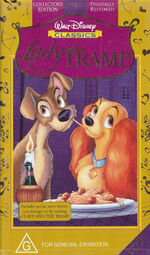 Lady and the Tramp 1998 Australia VHS