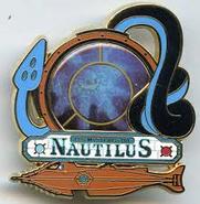 Les Mysteres Du Nautilus Pin