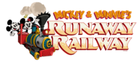 Mickey and Minnie's Runaway Railway logo