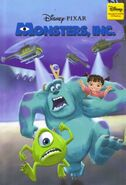 Monsters inc disney wonderful world of reading hachette partworks