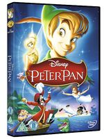 Peter Pan 2012 UK DVD