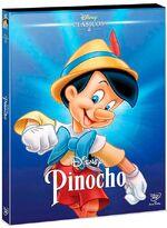 Pinocchio Mexico DVD