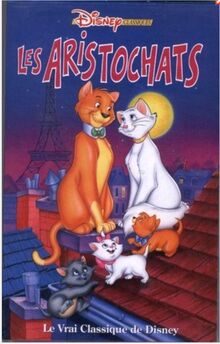 The Aristocats 1995 French Belgium VHS