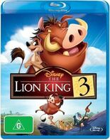 The Lion King 3 2015 AUS Blu Ray