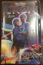 Tron 1988 AUS VHS