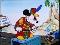 Conductor Mickey Mouse