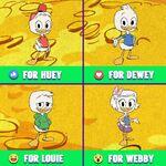 DT2017 Huey, Dewey, Louie & Webby