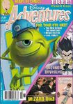 Disney Adventures Magazine Australian cover Feb 2002 Monsters Inc