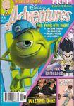 Disney Adventures Magazine Australian cover Feb 2002 Monsters Inc