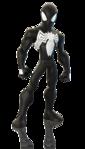 Disney INFINITY Black Suit Spider-Man Render