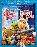 Muppet Treasure Island & The Great Muppet Caperbluray