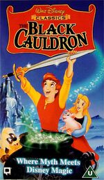 The Black Cauldron (UK VHS 1997)