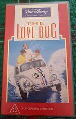 The Love Bug 1993 AUS VHS