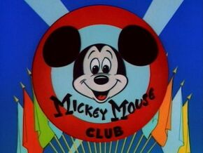 The Mickey Mouse Club title screen