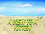 A View to a Kitten