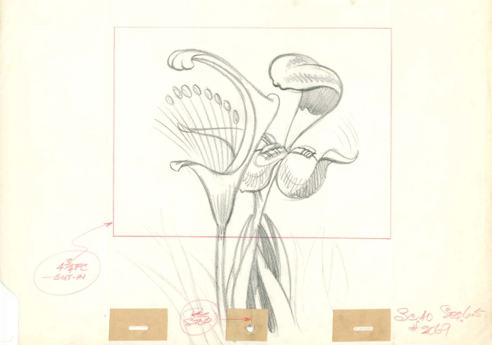 Image 16 Field Drawing Iris Playing Harp Layout Drawing Blogg