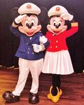 Captain Mickey and Captain Minnie
