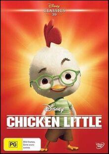 Chicken Little 2016 AUS DVD