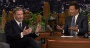 John Travolta visits Jimmy Fallon