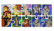 Lion King Puzzle pin